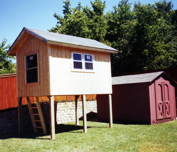 Raised Shed - 2
