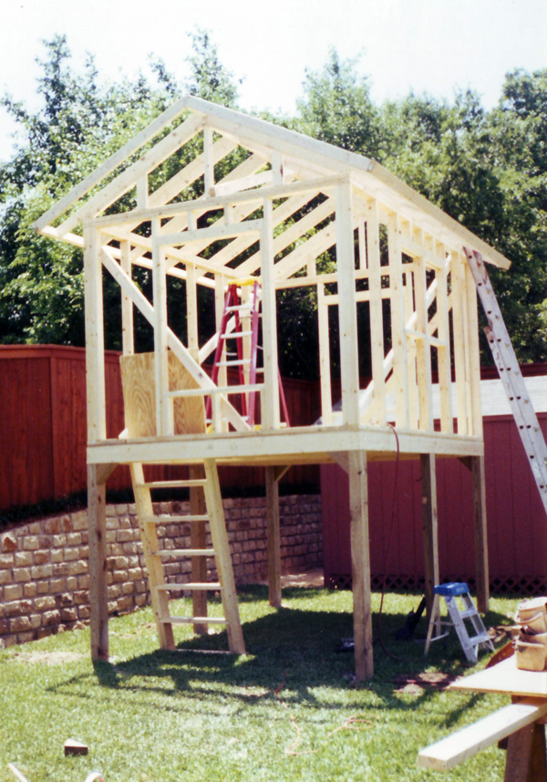 Raised Shed