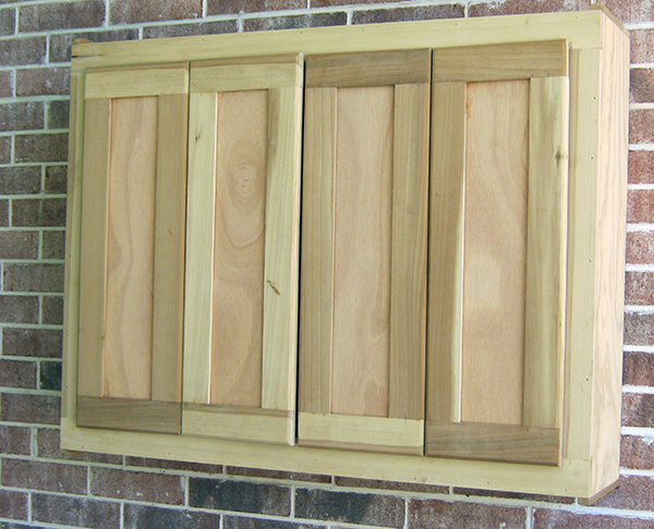 Custom TV Cabinet Closed