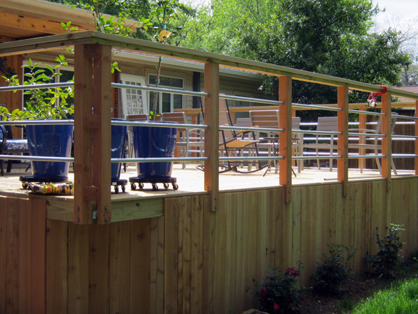 Custom Deck & Railing