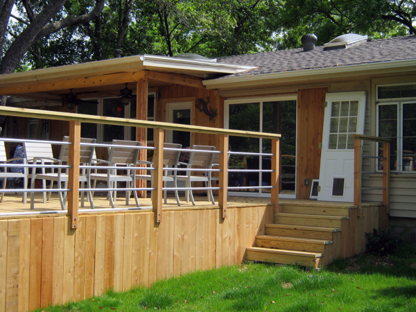 Custom Deck, Railing & Patio